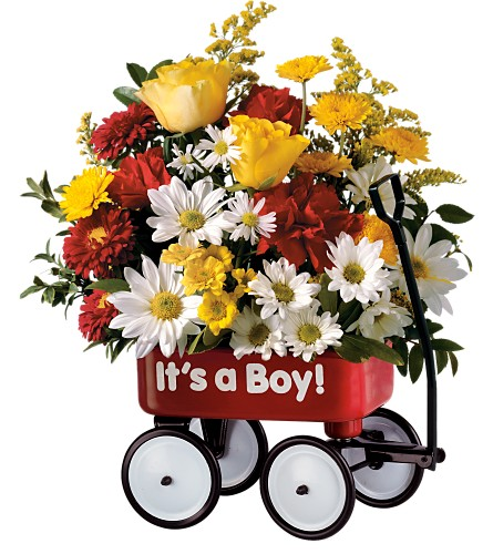 Canada Flowers Boy's/Girl's  Wagon