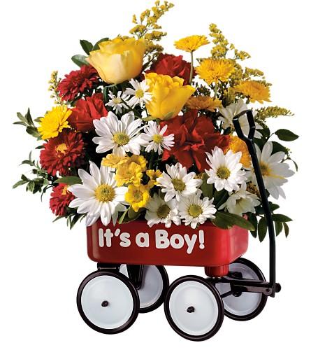 Canada Flowers Boy's/Girl's  Wagon