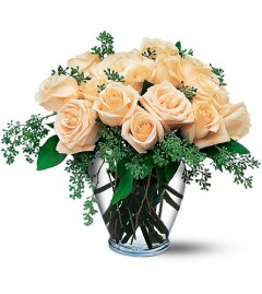 Canada flowers white roses in a vase